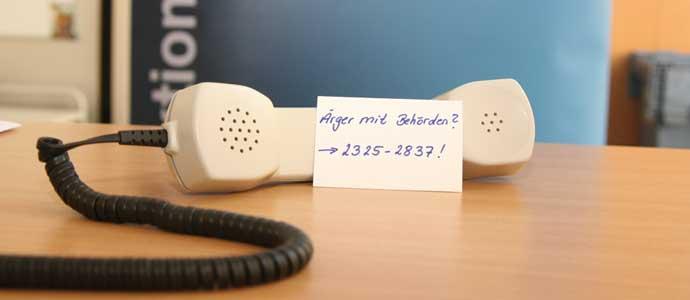Unsere Kummernummer - Wir helfen!