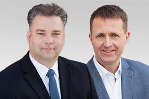 Stephan Standfuß, sportpolitischer Sprecher, und Oliver Friederici, Sprecher für Bürgerschaftliches Engagement und Partizipation