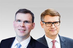 Florian Graf, Vorsitzender der CDU-Fraktion, und Stephan Lenz, verfassungsschutzpol. Sprecher der CDU-Fraktion