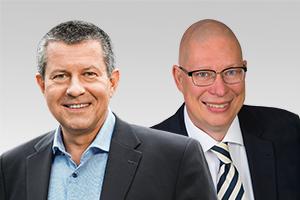 Christian Goiny, medienpolitischer Sprecher der CDU-Fraktion Berlin, und Dr. Robbin Juhnke, kulturpolitischer Sprecher der CDU-Fraktion Berlin