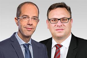 Christian Gräff, baupolitischer Sprecher der CDU-Fraktion Berlin, und Stephan Schmidt, Mitglied des Hauptausschusses und bezirkspolitischer Sprecher der CDU-Fraktion Berlin