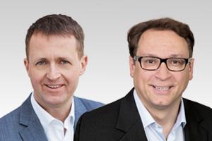 Hans-Christian Hausmann, wissenschaftspolitischer Sprecher der CDU-Fraktion und Oliver Friederici, Abgeordneter aus dem Bezirk Steglitz-Zehlendorf