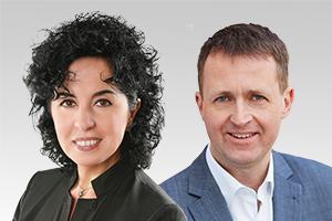 Emine Demirbüken-Wegner und Oliver Friederici