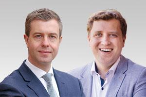 Stefan Evers, stadtentwicklungspolitischer Sprecher und der Pankower CDU-Abgeordnete Gottfried Ludewig