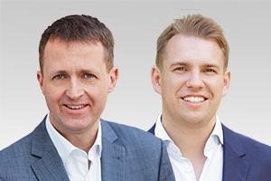 Oliver Friederici, verkehrspolitischer Sprecher der CDU-Fraktion Berlin, und Danny Freymark, Parlamentarischer Geschäftsführer der CDU-Fraktion Berlin