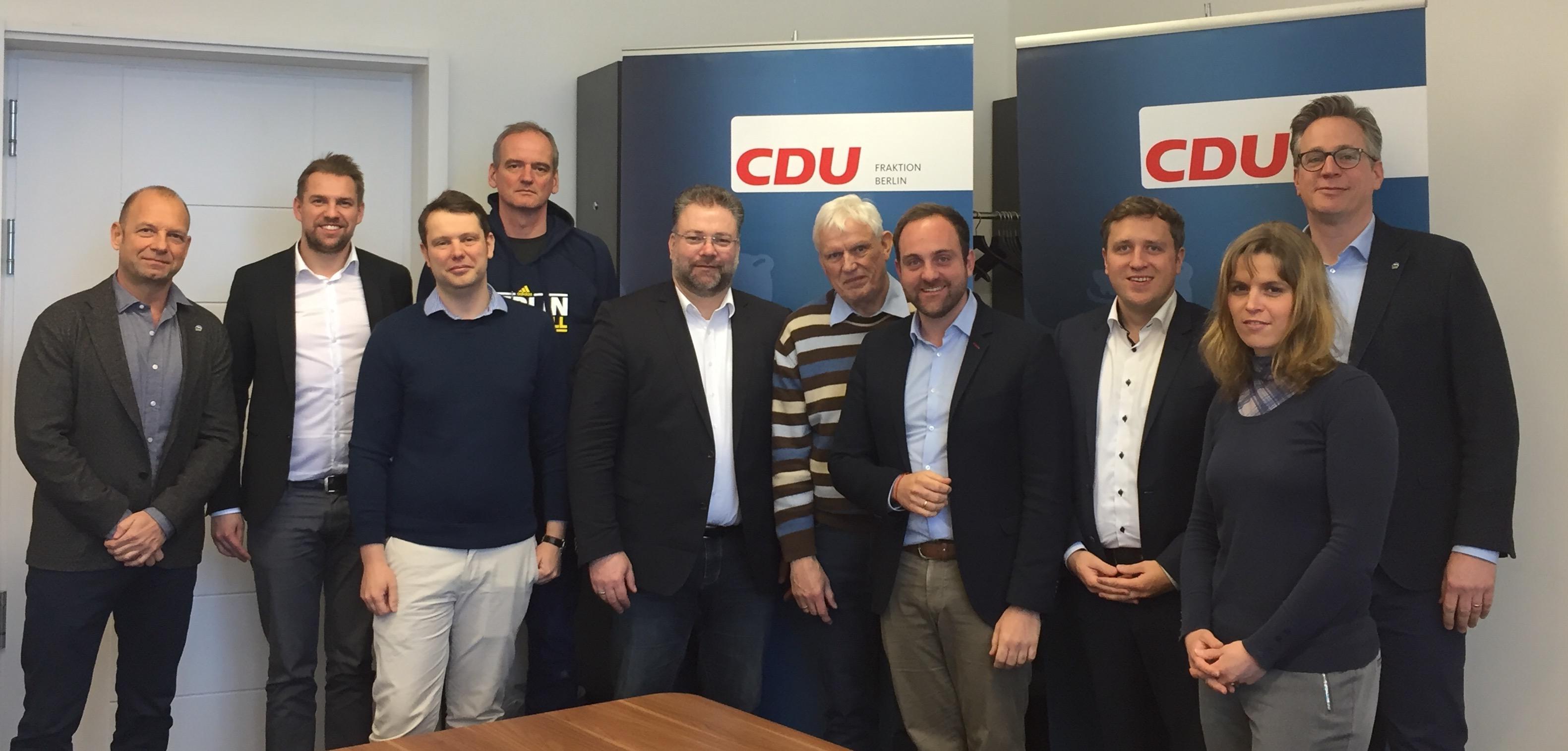 CDU-Fraktion Berlin - Ohne Breite keine Spitze, ohne Spitze keine Breite –  Austausch.