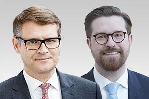 Stephan Lenz, verfassungsschutzpolitischer Sprecher der CDU-Fraktion Berlin, und Sven Rissmann, rechtspolitischer Sprecher der CDU-Fraktion Berlin