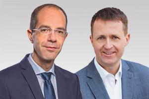 Oliver Friederici, verkehrspolitischer Sprecher der CDU Berlin, und Christian Gräff, wirtschaftspolitischer Sprecher der CDU Berlin
