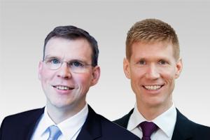 Florian Graf, Vorsitzender der CDU-Fraktion, und Roman Simon, familienpolitischer Sprecher der CDU-Fraktion Berlin