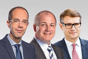 Christian Gräff, wirtschaftspolitischer Sprecher der CDU-Fraktion Berlin, Jürn Jakob Schultze-Berndt, Sprecher für Arbeit sowie Stephan Lenz, Sprecher für E-Government