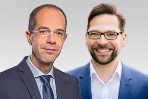 Christian Gräff, Sprecher für Bauen und Wohnen der CDU-Fraktion Berlin, und Maik Penn, sozialpolitischer Sprecher der CDU-Fraktion Berlin