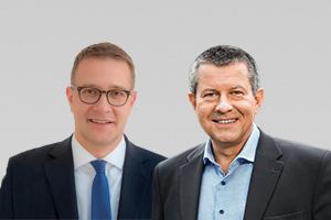 Adrian Grasse, forschungspolitischer Sprecher der CDU-Fraktion, und Christian Goiny, haushaltspolitischer Sprecher der CDU-Fraktion