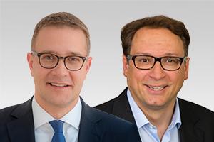 Adrian Grasse, forschungspolitischer Sprecher, und Dr. Hans-Christian Hausmann, wissenschaftspolitischer Sprecher der CDU-Fraktion Berlin