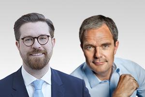Burkard Dregger, Vorsitzender und innenpolitischer Sprecher, und Sven Rissmann, rechtspolitischer Sprecher der CDU-Fraktion Berlin