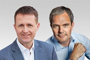 Oliver Friederici, verkehrspolitischer Sprecher der CDU-Fraktion Berlin, und Burkard Dregger, Vorsitzender der CDU-Fraktion Berlin