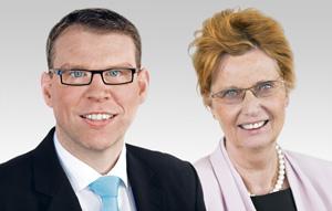 Florian Graf und Monika Thamm