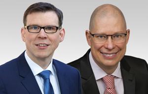 Florian Graf, Fraktionsvorsitzender der CDU-Fraktion und Robbin Juhnke, innenpolitischer Sprecher der CDU-Fraktion