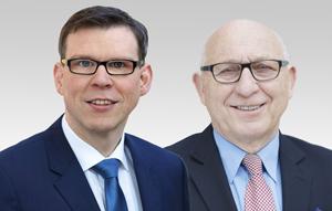Florian Graf, Vorsitzender der CDU-Fraktion und Kurt Wansner