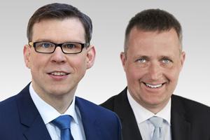 Florian Graf, Vorsitzender der CDU-Fraktion und Oliver Friederici