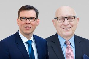 Florian Graf, Vorsitzender der CDU-Fraktion, und Kurt Wansner, CDU-Abgeordneter Friedrichshain-Kreuzberg