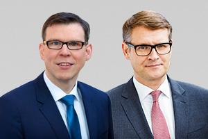 Florian Graf, Fraktionsvorsitzender, und Stephan Lenz, verfassungsschutzpol. Sprecher