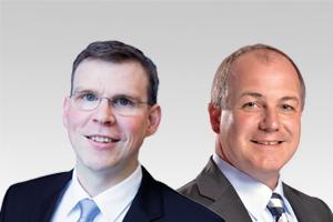 Florian Graf, Fraktionsvorsitzender, und Jürn Jakob Schultze-Berndt, energiepol. Sprecher