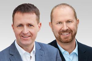 Oliver Friederici, verkehrspol. Sprecher, und Michael Dietmann, CDU-Abgeordneter aus Reinickendorf