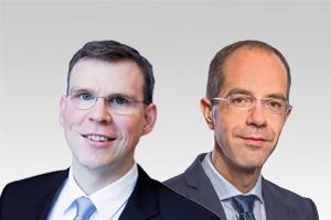 Florian Graf, Fraktionsvorsitzender und Christian Gräff, bau- und wohnungspol. Sprecher