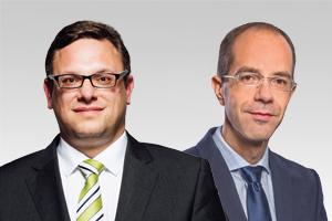 Stephan Schmidt, bezirkspol. Sprecher, und Christian Gräff, bau- und wohnungspol. Sprecher