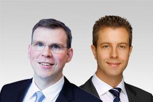 Florian Graf, Fraktionsvorsitzender, und Stefan Evers, stadtentwicklungspol. Sprecher