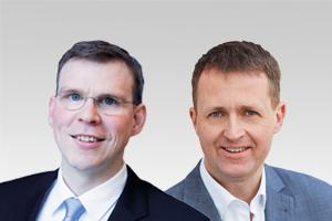 Florian Graf, Vorsitzender der CDU-Fraktion, und Oliver Friederici, verkehrspol. Sprecher