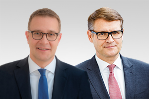 Adrian Grasse, forschungspol. Sprecher, und Stephan Lenz, verfassungsschutzpol. Sprecher