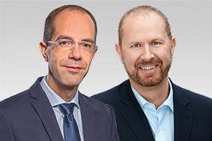 Christian Gräff, wirtschaftspol. Sprecher, und Michael Dietmann, beteiligungspol. Sprecher